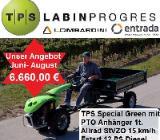 Einachser 12 PS Diesel Estart Triebachsanhänger 4WD StVZO 15 km/h - Ganderkesee