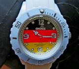 "Sport-Armbanduhr ""Germany-Optik"", Silikonarmband, absolut neuwertig! - Diepholz"