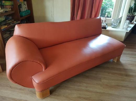 Ledercouch Sessel und Recamiere - Kirchlinteln