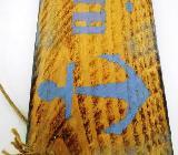 Holzschild Heimathafen,Gartenschild,Türschild,Sommerdeko,Hochzeit,Wandekoration,Wandschild,Sommerdeko,Türschild,Haustür,Eingang,Mottoschild,maritime Deko - Stuhr
