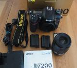 Nikon DSLR D7200 Kamera, Body, D7000, SB 910, div. Objektive - Bremen
