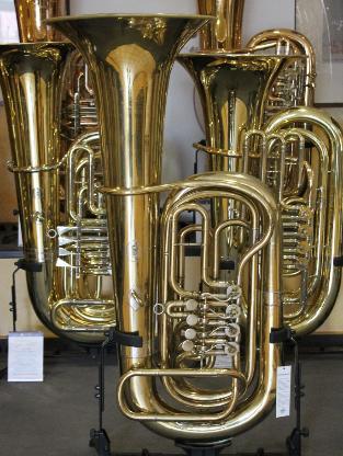 Rudolf Meinl Diespeck B - Tuba, 4 Ventile inkl. Gigbag