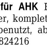 Fahrradträger für AHK EUF - Bremen Obervieland