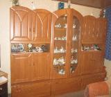 Wohnzimmer-Schrank, braun - Nordenham