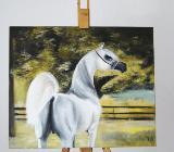 Pferdebild/ Ölbild für Pferdeliebhaber - Bremen