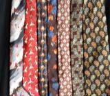 33 gepflegte Markenkrawatten und  6 Krawattenbügel - Ottersberg