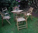 Sitzgruppe aus Bambus - Bassum