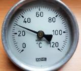 Kachel Bimetallthermometer 120°C Heizung Wasserversorgungssysteme - Verden (Aller)