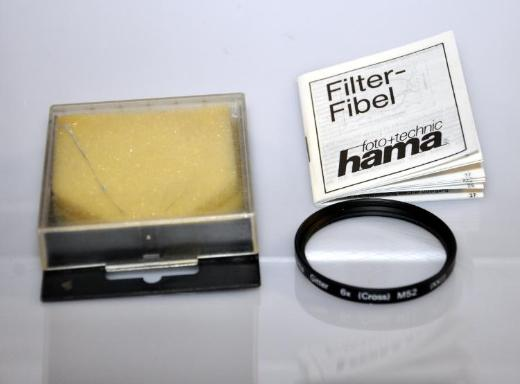Hama Gitterfilter 6x (Cross) 6x Sterneffekt M52 (XXII) - Achim