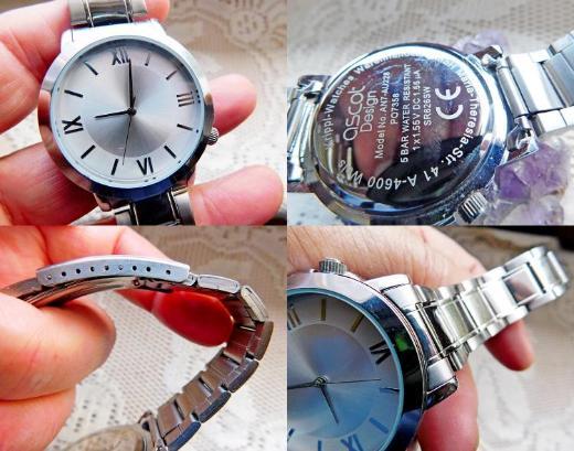 Edelstahl-Armbanduhr mit 5 BAR und Edelstahl-Gliederarmband, neuwertig! - Diepholz