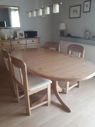 Esszimmertisch + 6 Stühle - Varrel