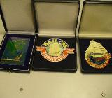 Teilnehmerplaquettes Sail 1991,2000,2005 - Bremen