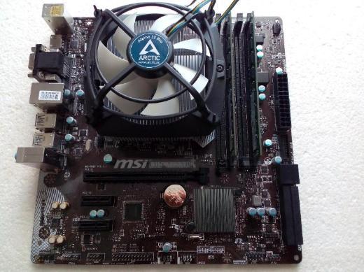 Mainboard & CPU i3 6100 & 8 GB RAM & CPU-Lüfter - Bremen