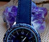 Weltzeit-Armbanduhr, noch ungetragen, mit Bedienanleitung! Neu in OVP! - Diepholz