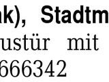 1 Türgriff (Teak), Stadtm -