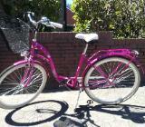 Damenfahrrad in Pink - Damme