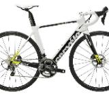 "Cervélo S3 Disc Ultegra Triathlon 28"" 56cm Carbon white/lime 2017 - Friesoythe"
