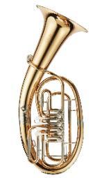 Kühnl & Hoyer 78/4G Profiklasse Bariton in Bb. 4 Ventile. Neuware