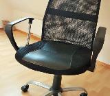 Chefsessel Amalfi Netzoptik Bürostuhl Drehstuhl Sessel schwarz - Verden (Aller)