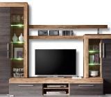Wohnwand Boom - Touchwood 308 cm bis 368 cm LED-Beleuchtung - Verden (Aller)