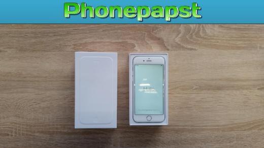 Apple iPhone 6S - 16 GB - Silber   Gewährleistung - GEB-1994 - Friesoythe