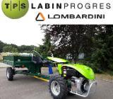 Einachser 12 PS Diesel Estart PTO- Trailer 1t Allrad StVZO 15 kmh - Ganderkesee