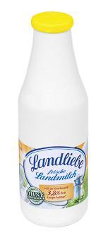 Milchflasche Landliebe aus Holz für den Kaufladen - Scheeßel