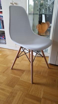 Designer Esszimmerstühle weiß
