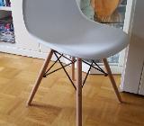 Designer Esszimmerstühle weiß - Stuhr