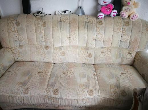 Dreier Sitz und Sessel