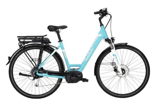 "Pegasus Solero E8 Damen E-Bike 28"" 55cm türkis 8 Gang 2017 - Friesoythe"