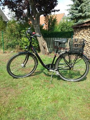 28 Zoll Cityrad für Damen der Marke Manufaktur, schwarz