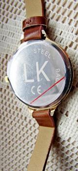 Damen-Design-Armbanduhr, Leder-Wickelarmband, ungetragen in der OVP! - Diepholz