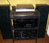 Stereoanlage mit Boxen inkl. Hifi-Rack - Kirchlinteln