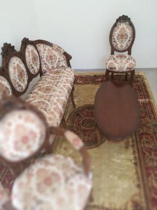 Möbelgarnitur aus Walnussholz, Handarbeit - Bremen