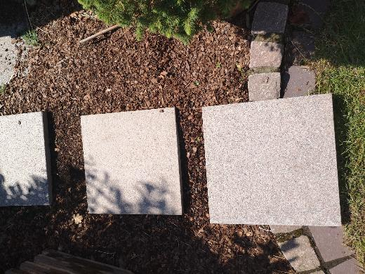 Granit Bodenplatte