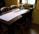 Esszimmertisch kpl mit 6 Stühlen - Hude (Oldenburg)