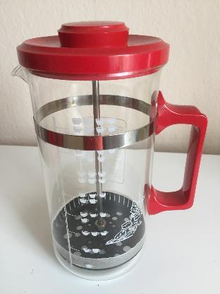 Bodum Kaffeebereiter 8 Tassen, 1,0l, Glas