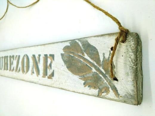 Wanddeko,Ruhezone,Holzschild,Sofa,Büro,Büroschild,Wanddeko,Schriften,Sauna,Wellnesszimmer,Geschenk,Hochzeitsgeschenk - Stuhr