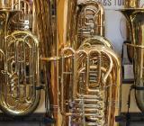 Melton / Meinl Weston 25G Tuba aus Goldmessing. Handarbeit - Made in Germany - Bremen Mitte