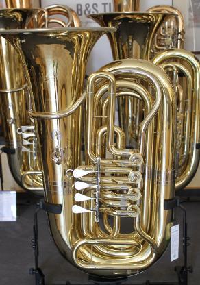 Kompakte Stowasser / Cerveny Tuba, 4 Ventile inkl. Gigbag - Bremen Mitte