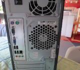 + Fujitsu Desktop Esprimo P2550 Core2Duo PC E7500 2mal 2,93GHz 250GB 4GB !! DVD-RW - Delmenhorst