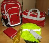 4 You Jump 5 Teiliges Schulrucksack Set - Red - NEU ! - Edewecht