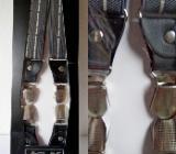 """Hosenträger """"Anthrazit/Weiß"""", silberfarbige Clips, noch unbenutzt in der OVP! - Diepholz"""