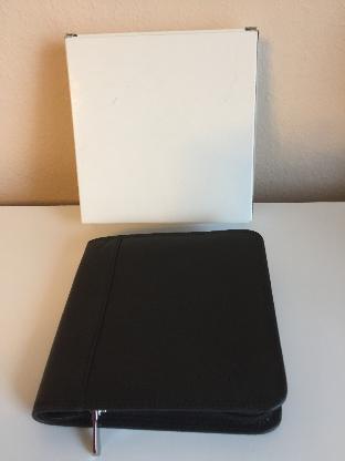 Hochwertige Leder CD/DVD Tasche / Wallet