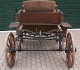 """Pferdekutsche Opel Uelzen """"Selbstfahrer"""" von 1896 - Wagenfeld"""