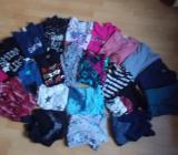 17 Langarmn Shirts + 1 Desigual Kleid + 4 Shirts für Mädchen in 158 / 164 - Edewecht
