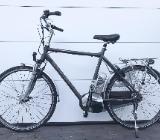 "Kalkhoff Tasman Pedelec Herren E-Bike 28"" 61cm braun 8-Gang 2010 - Friesoythe"