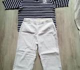 Weisse Damenhose in Gr.44 + Damen T - Shirt - Bremen