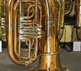 V. F. Cerveny Kaiser - Tuba Mod. 793-4 RX aus Goldmessing